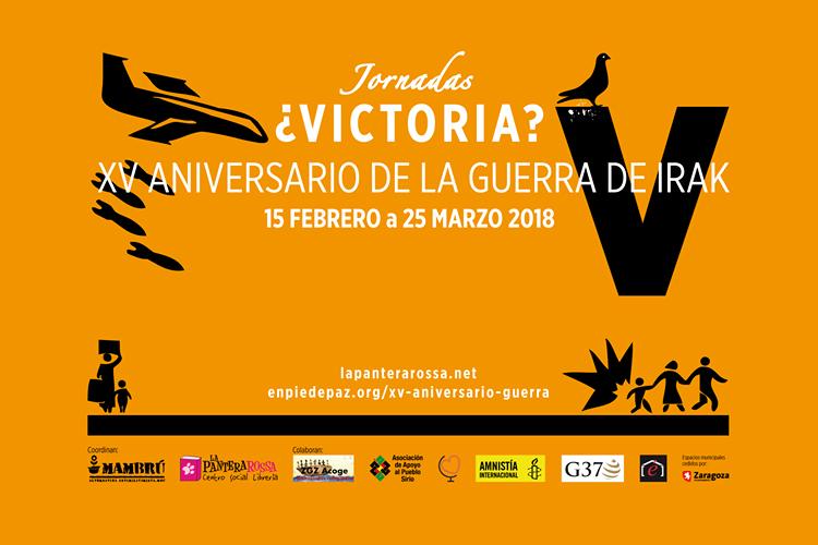 Zaragoza acoge unas jornadas para recordar el XV aniversario de la protesta global contra la guerra de Irak
