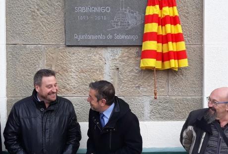 Soro reivindica en Samianigo el ferrocarril como vía de desarrollo para Aragón