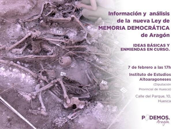 Ley de Memoria Democrática de Aragón (Podemos)
