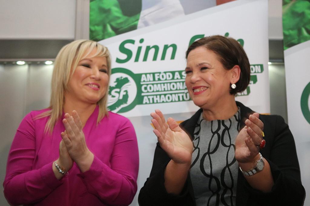 Mary Lou McDonald y Michelle O'Neill al frente del Sinn Féin en el camino hacia una Irlanda unida