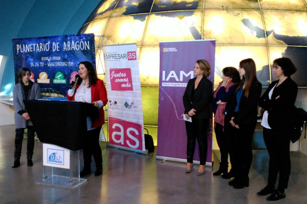 """Salvo: """"Visibilizar a las mujeres y a las niñas en su contribución a nuestra sociedad es necesario para avanzar hacia un Aragón más igualitario"""""""