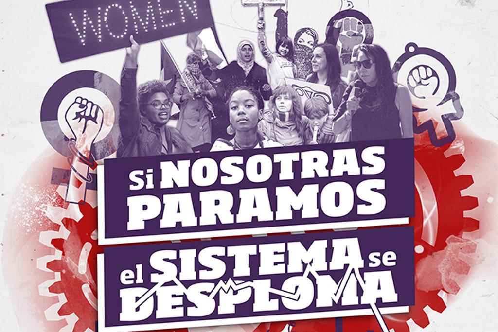 """PCE y UJCE en apoyo a la huelga feminista: """"¡Si nosotras paramos, el sistema se desploma!"""""""