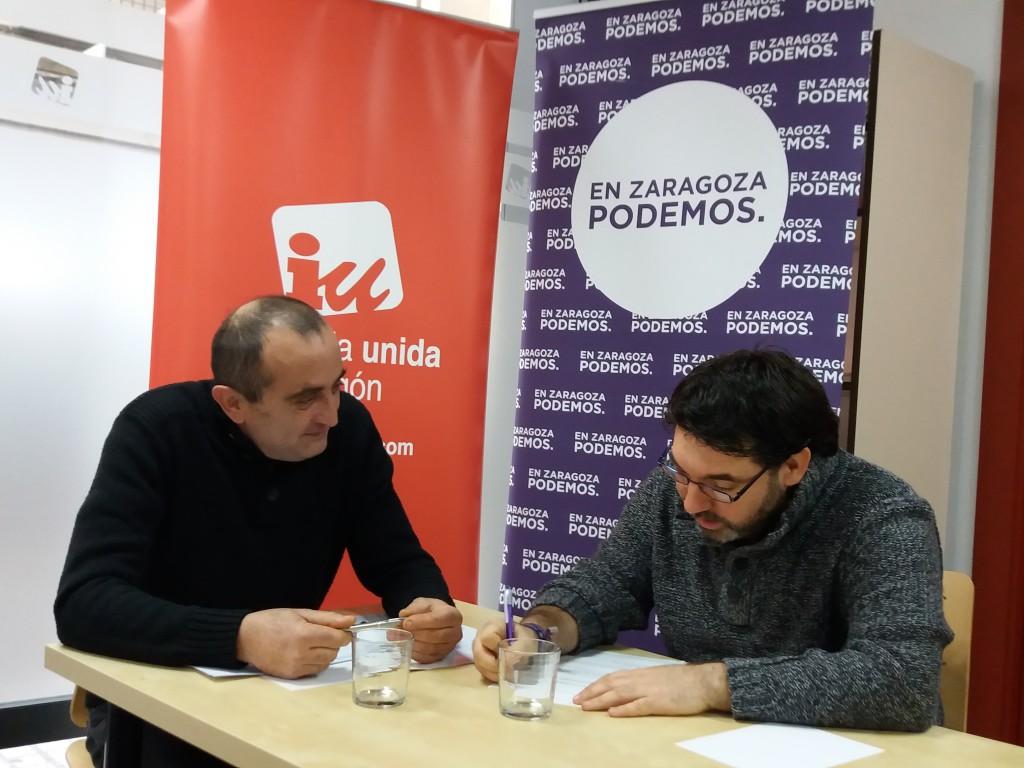 Las direcciones locales de Podemos e Izquierda Unida se reúnen para analizar y valorar el trabajo realizado
