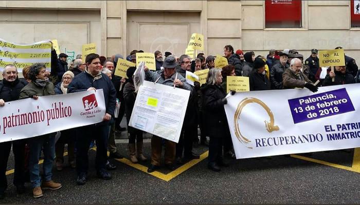 La Coordinadora Recuperando reclama al Gobierno español que haga público el listado detallado de bienes inmatriculados por la Iglesia