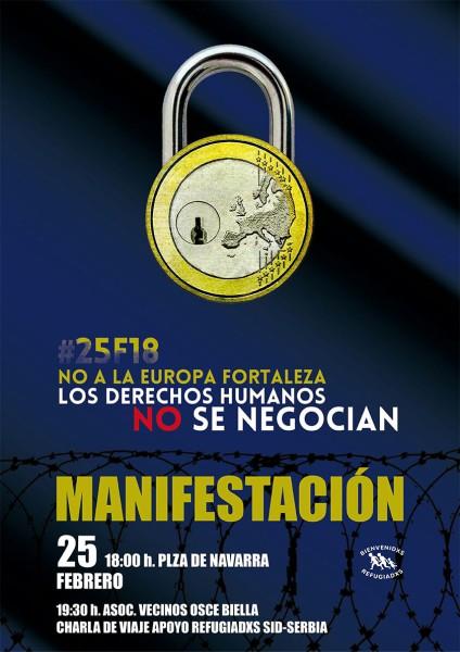 REfugiadxs UE 25F Huesca