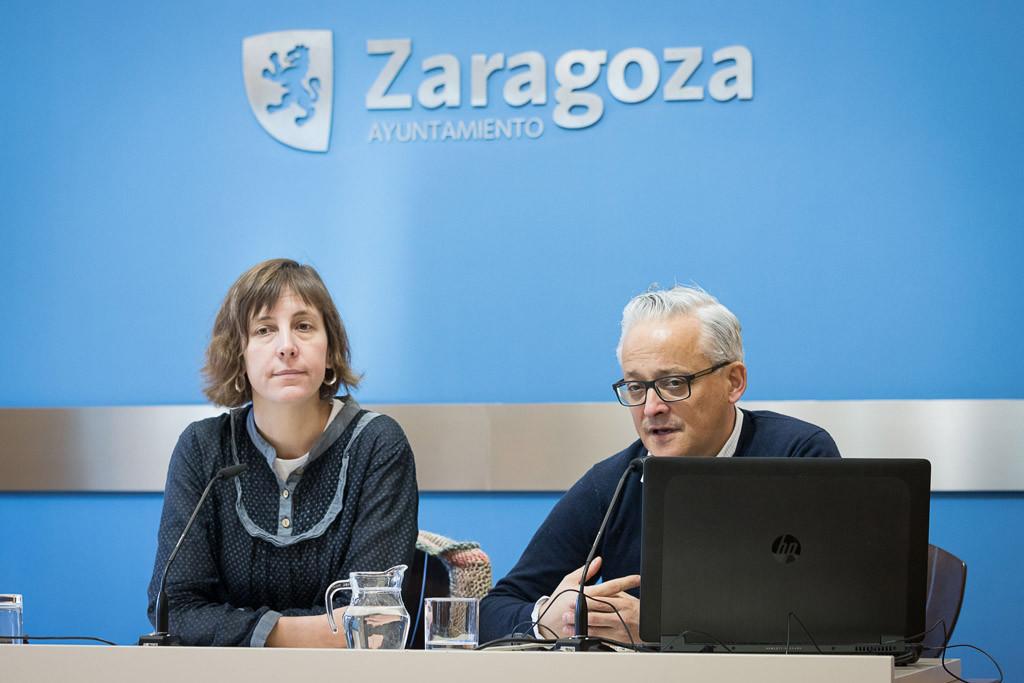 El tráfico de vehículos a motor en Zaragoza se reduce un 1'4% en 2017