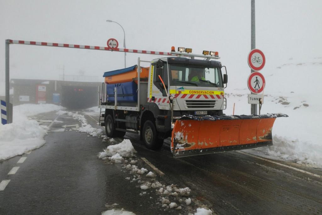 CNT Zinca muestra su apoyo a los trabajadores y trabajadoras del Túnel Bielsa-Aragnouet