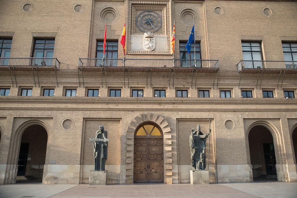 Ayuntamiento de Zaragoza. Foto: Pablo Ibáñez (Arainfo)
