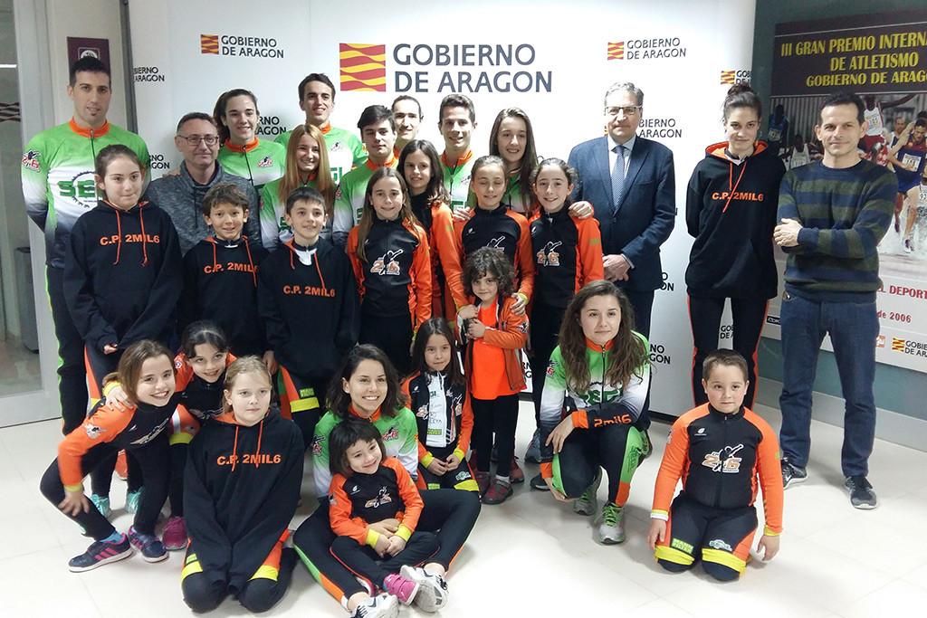 El Club de Patinaje de velocidad aragonés Segi 2mil6 inicia su temporada en la Liga estatal