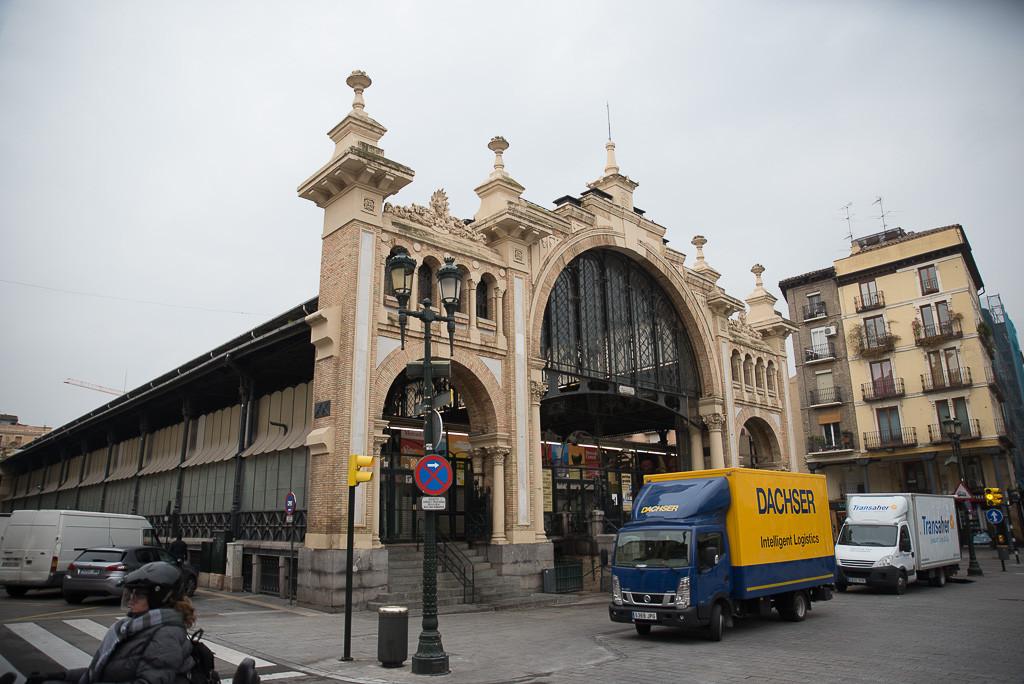 Ferrovial rehabilitará el Mercado Central de Zaragoza por 8,7 millones de euros