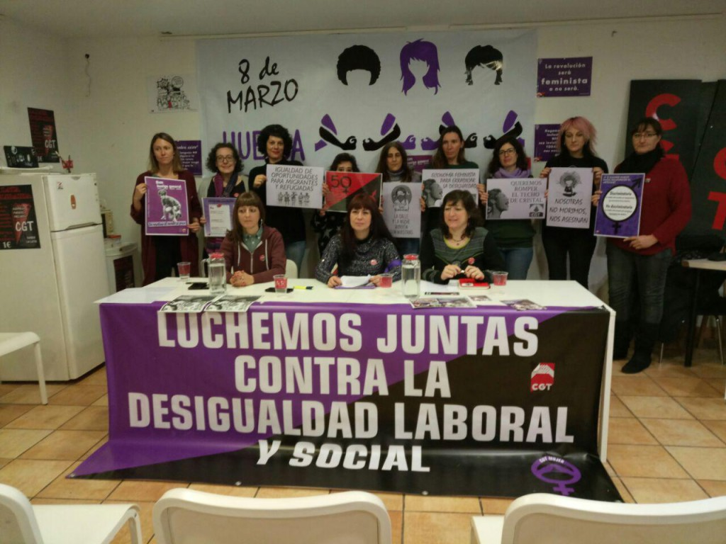 CGT presenta el preaviso de huelga general para el próximo 8 de marzo