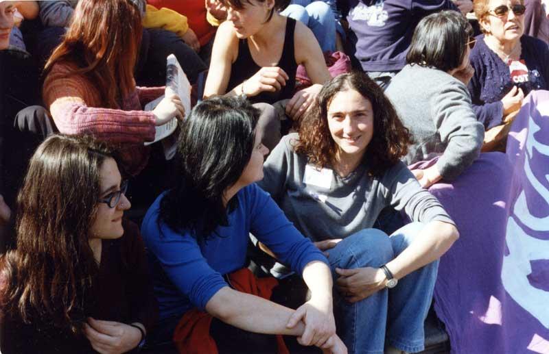 La Huelga Mundial de Mujeres en Zaragoza: años 2000-2001