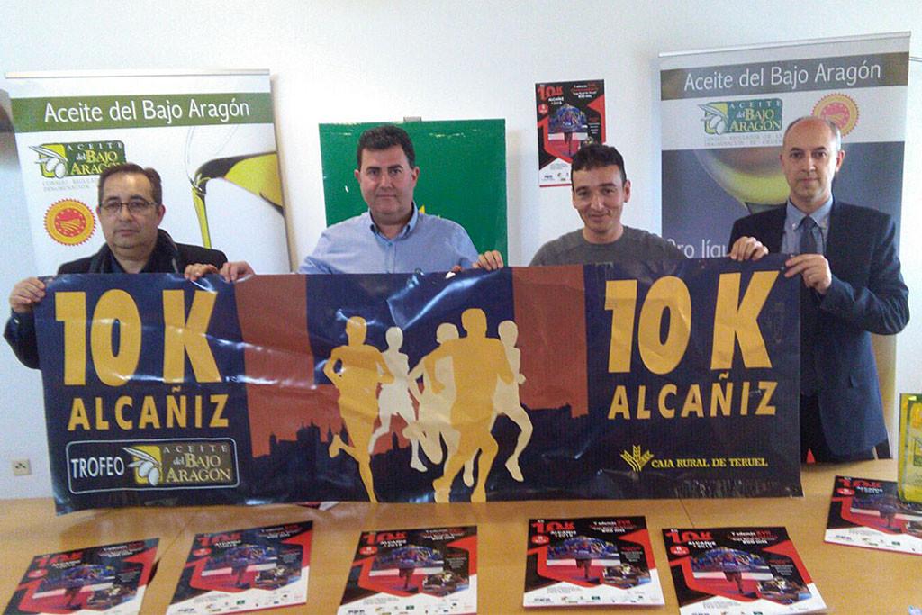 Alcanyiz acoge el 8 de abril la XII Edición de la 10k, organizada por el Club Tragamillas