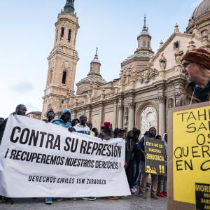 Zaragoza, Teruel y Exeya se suman al masivo rechazo a la Ley Mordaza de la sociedad civil