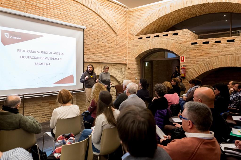 Entidades sociales de Zaragoza redactan un Programa para mediar en casos de usurpación de vivienda