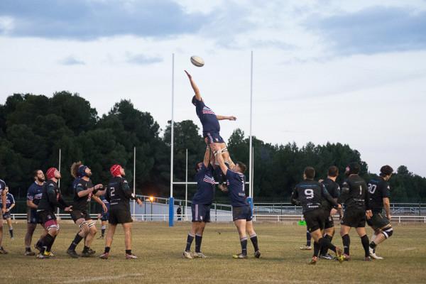El Rugby Fénix juega su último partido en casa antes de jugar por el ascenso a División de Honor
