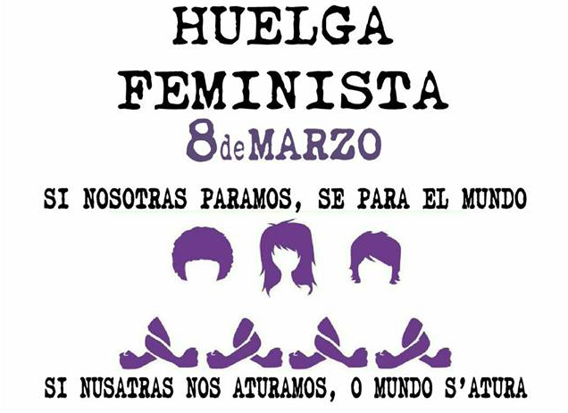 Alto Galligo y Chacetania se suman a la convocatoria de Huelga Feminista del 8 de marzo
