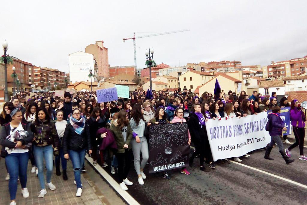 El primer concierto formado íntegramente por mujeres invita a Teruel a sumarse a la huelga del 8 de marzo