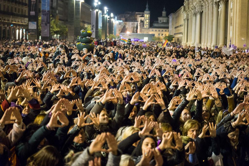 El activismo feminista internacional se cita esta semana en Zaragoza