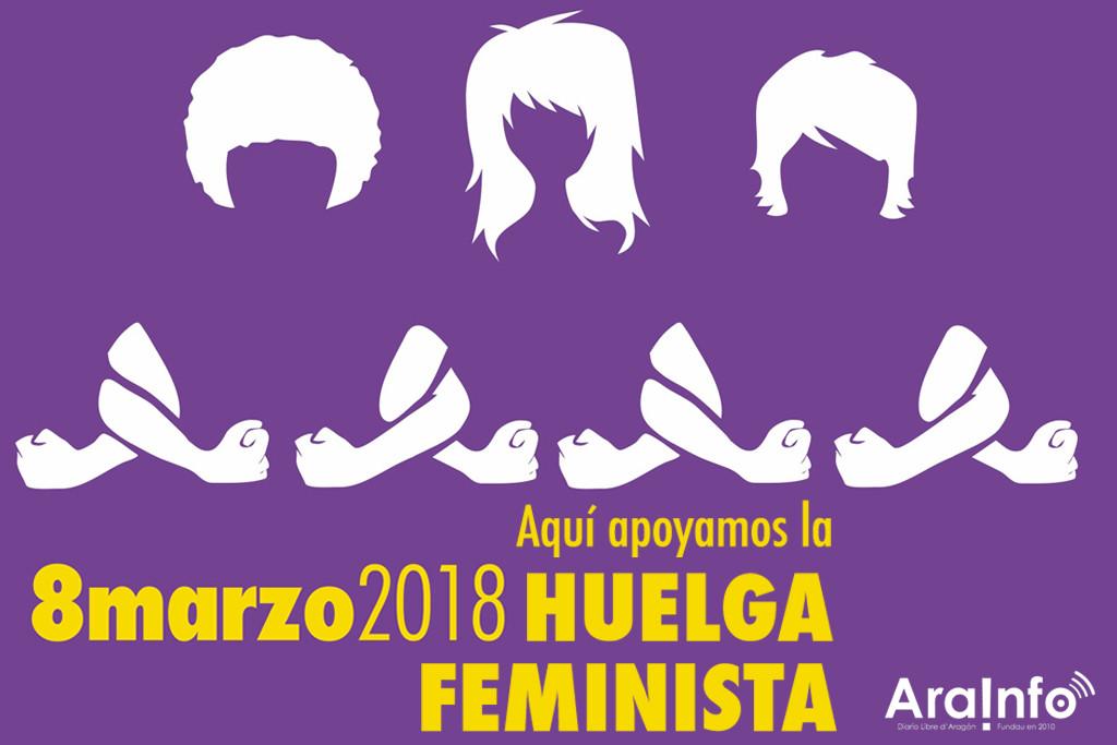 AraInfo se suma a la huelga feminista con una cobertura especial el 8M