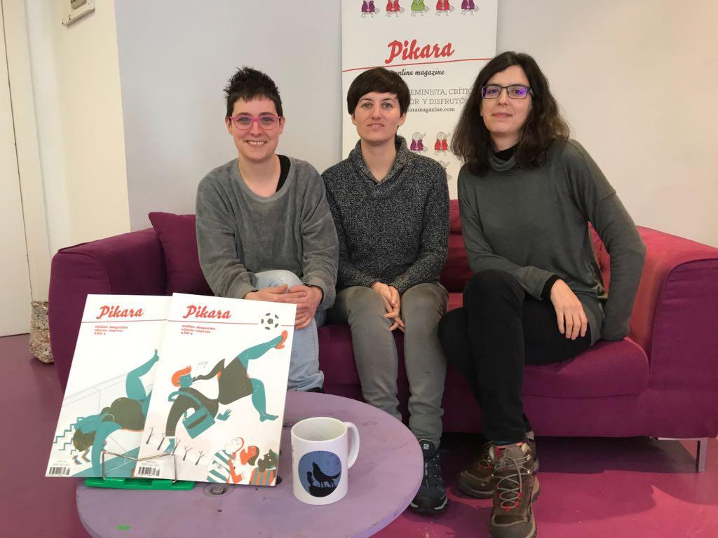 Pikara Magazine, ganadora del Premio Blasillo de Uesca por «aunar perspectiva de género, ingenio y rigor informativo»