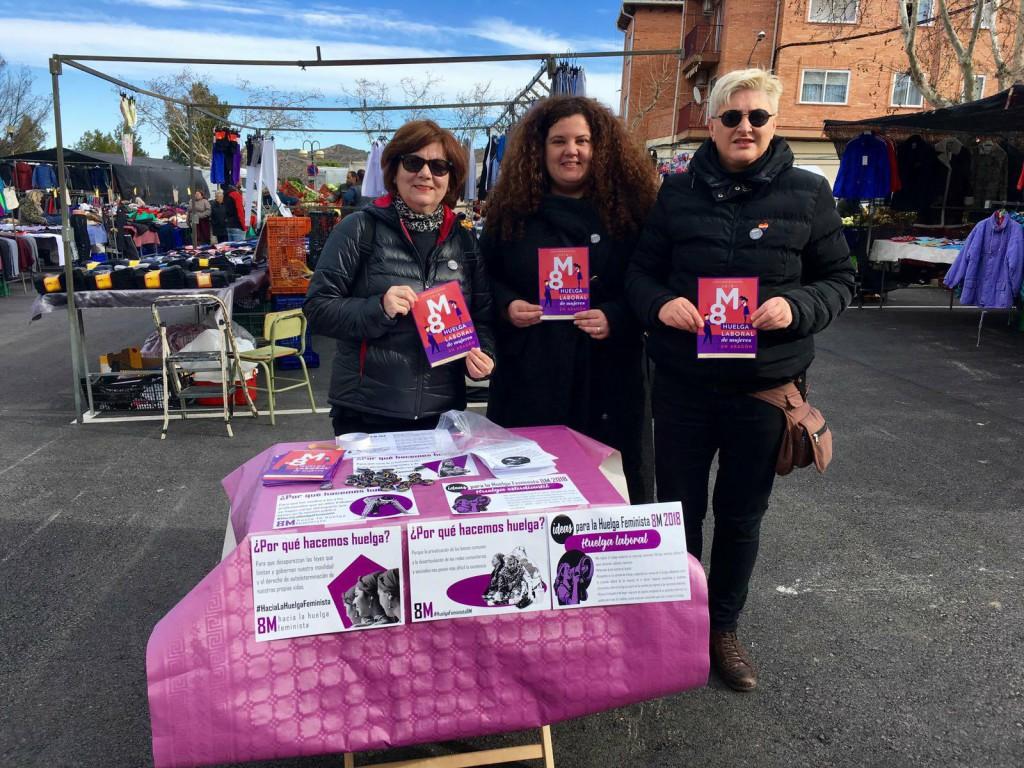 Caravana feminista en el Baixo Aragón Histórico