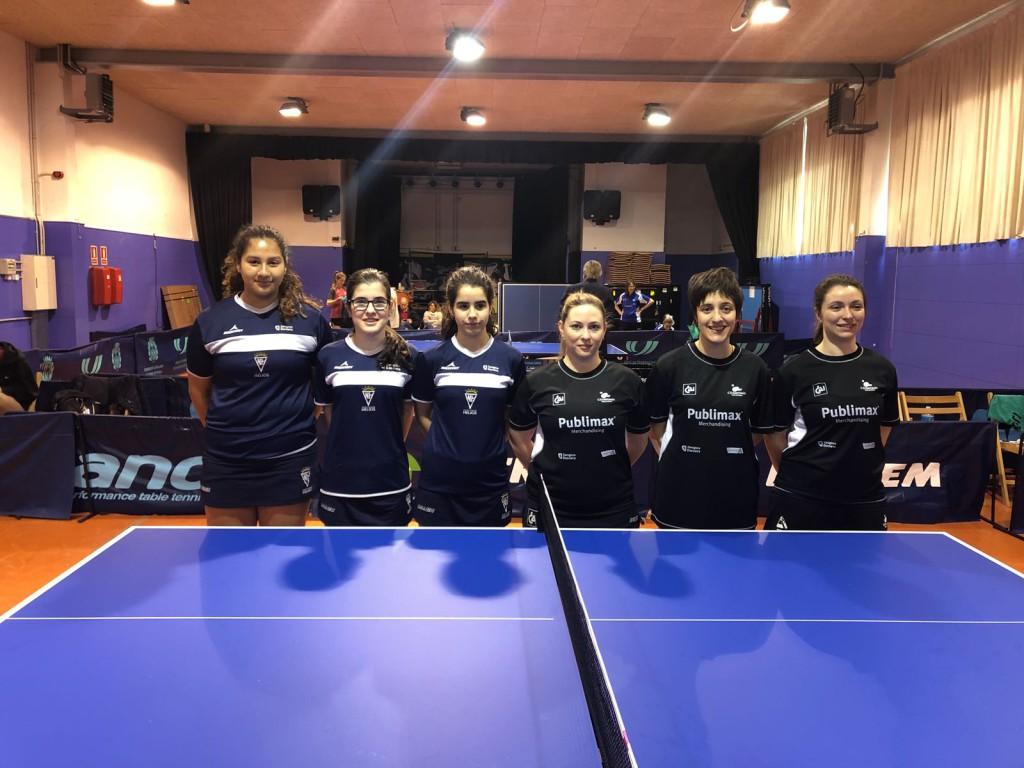 Finaliza la Liga de Primera división femenina de tenis de mesa