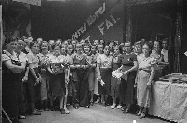 CNT celebra el 1 de Mayo centrado en la lucha feminista dentro del mundo sindical