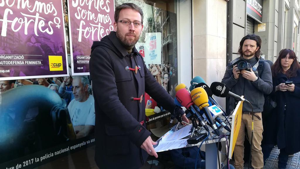 La CUP rechaza la propuesta de JxCat y ERC y se abstendrá en una posible investidura de Jordi Sànchez