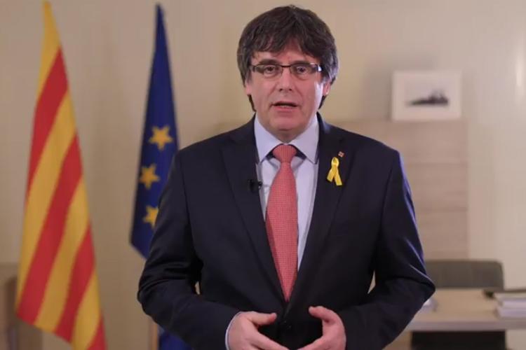 Puigdemont anuncia la retirada «provisional» de su candidatura y propone en su lugar a Jordi Sànchez