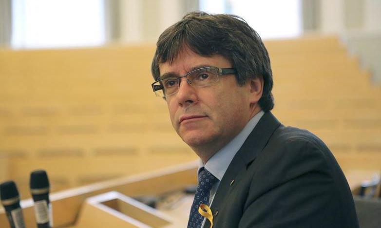 La Fiscalía alemana solicita la extradición de Carles Puigdemont