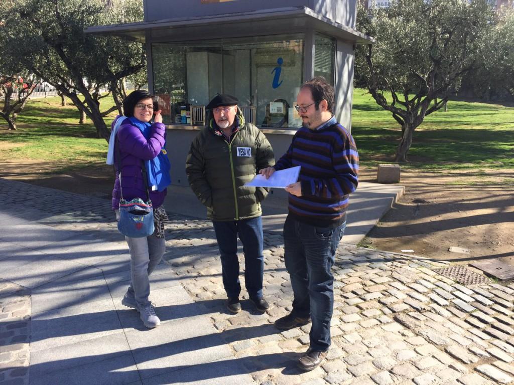 COAGRET entrega a la ministra Tejerina un documento con las razones para no seguir adelante con Yesa, Mularroya y Biscarrués