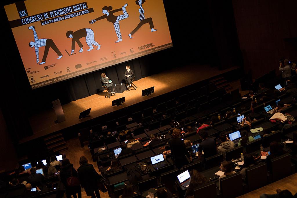 El XIX Congreso de Periodismo Digital arranca con un homenaje a Forges y la defensa unánime de las reivindicaciones del 8M