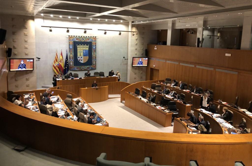 Las Cortes de Aragón salvan el decimocuarto escaño por Teruel con un acuerdo a última hora de todos los grupos parlamentarios