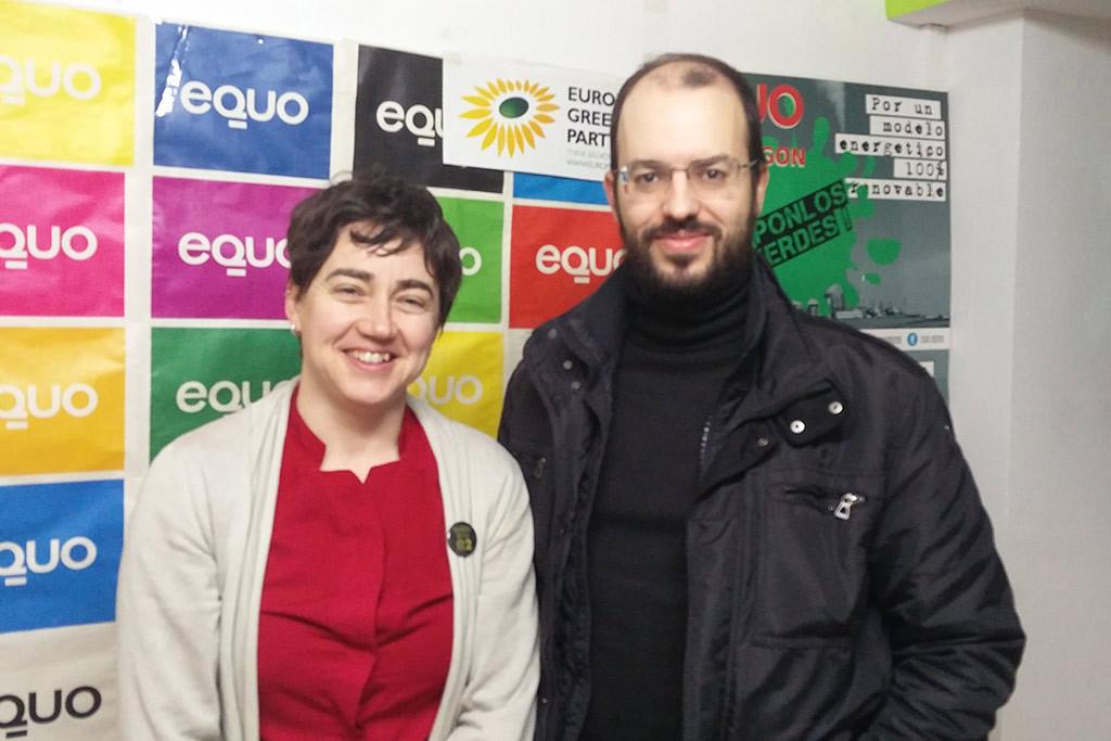 Equo Aragón concurrirá a las elecciones del 10N en coalición con Más País