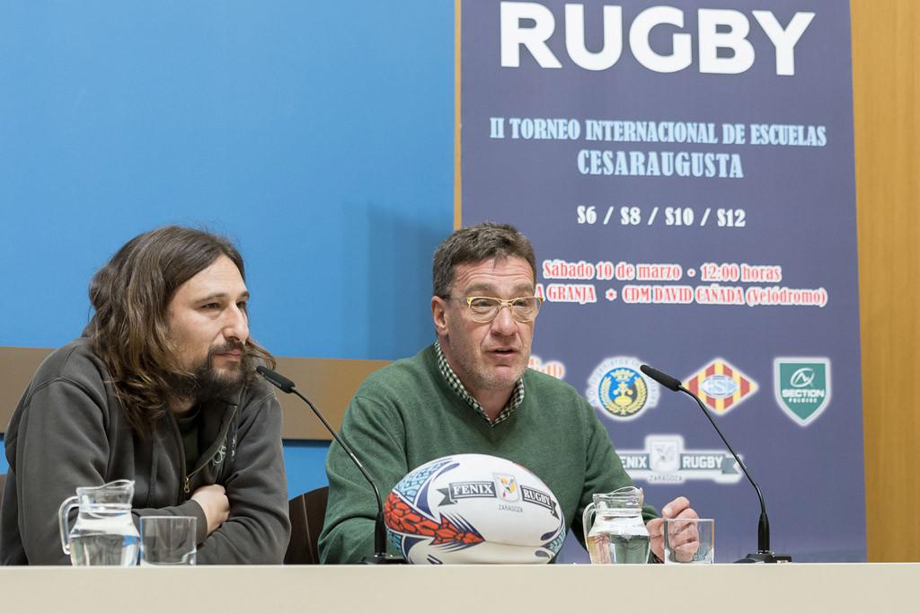500 niños y niñas protagonizan este sábado la gran fiesta del rugby de formación en Zaragoza