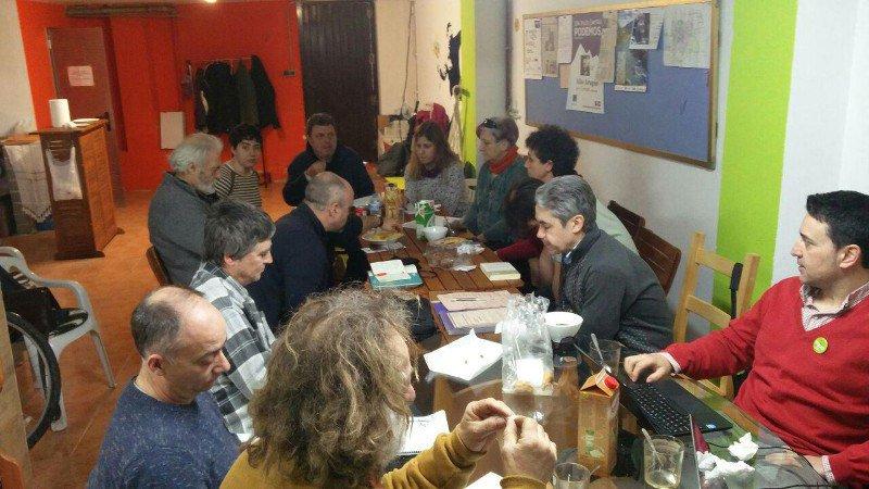 Equo Aragón renueva su mesa de Coordinación territorial y marca las pautas para el período preelectoral 2019