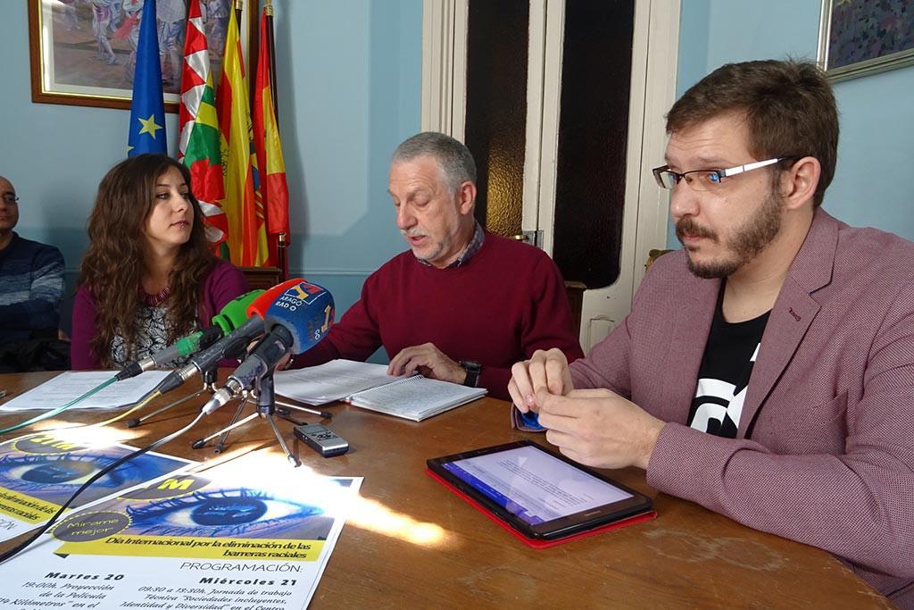 Uesca conmemora el Día Internacional por la Eliminación de las Barreras Raciales
