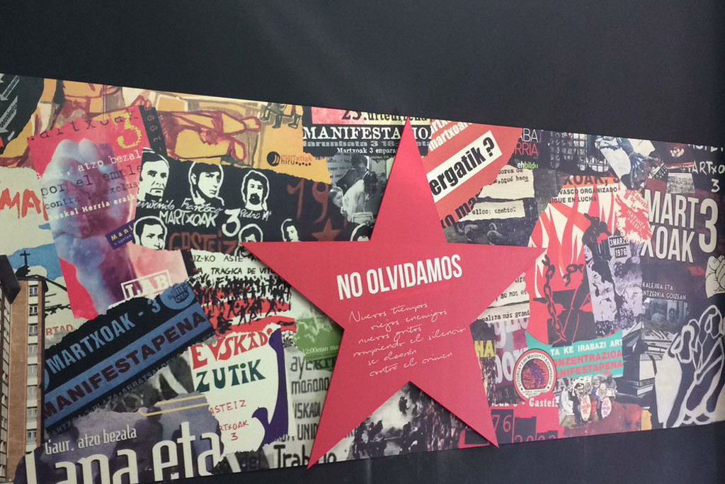 Gasteiz recuerda a los cinco obreros asesinados el 3 marzo de 1976 por la Policía Armada