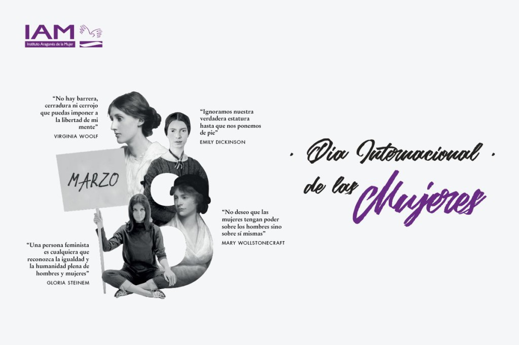El IAM organiza diversas actividades en Aragón con motivo del 8M