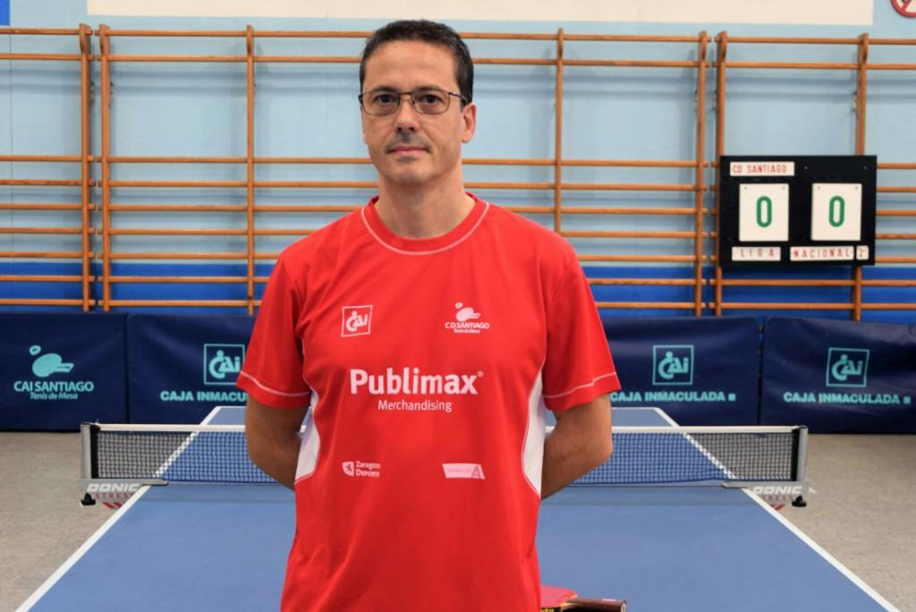 El Publimax CAI Santiago de tenis de mesa desciende de categoría