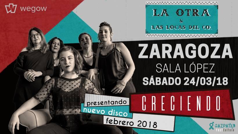 La Otra & Las Locas del Co. presentan su nuevo trabajo en la Sala López
