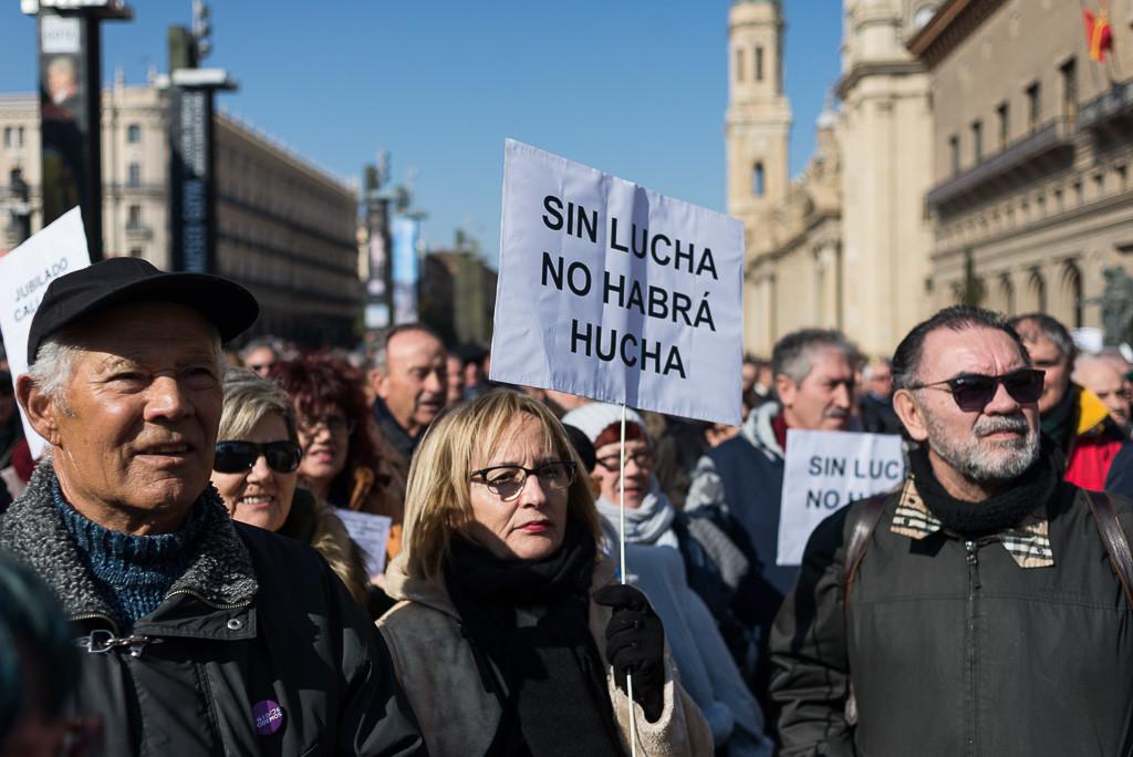 Coordinadora por la Defensa del Sistema Público de Pensiones Zaragoza ante la sentencia del TC sobre los contratos a tiempo parcial