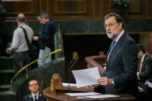 La moción de censura contra Mariano Rajoy se debatirá el jueves y viernes