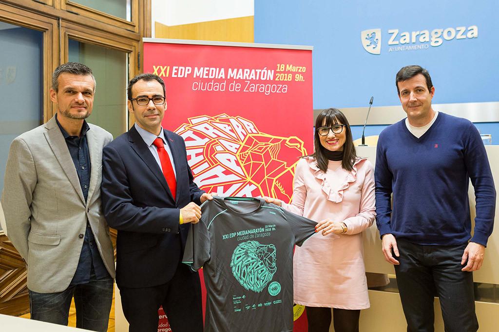 La Media Maratón de Zaragoza estrena recorrido este domingo con más de 3.000 personas participantes