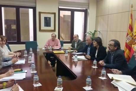 La mesa técnica del ICA acuerda, sin la RAPA ni el Ayuntamiento de Zaragoza, el nuevo proyecto de Ley tributaria