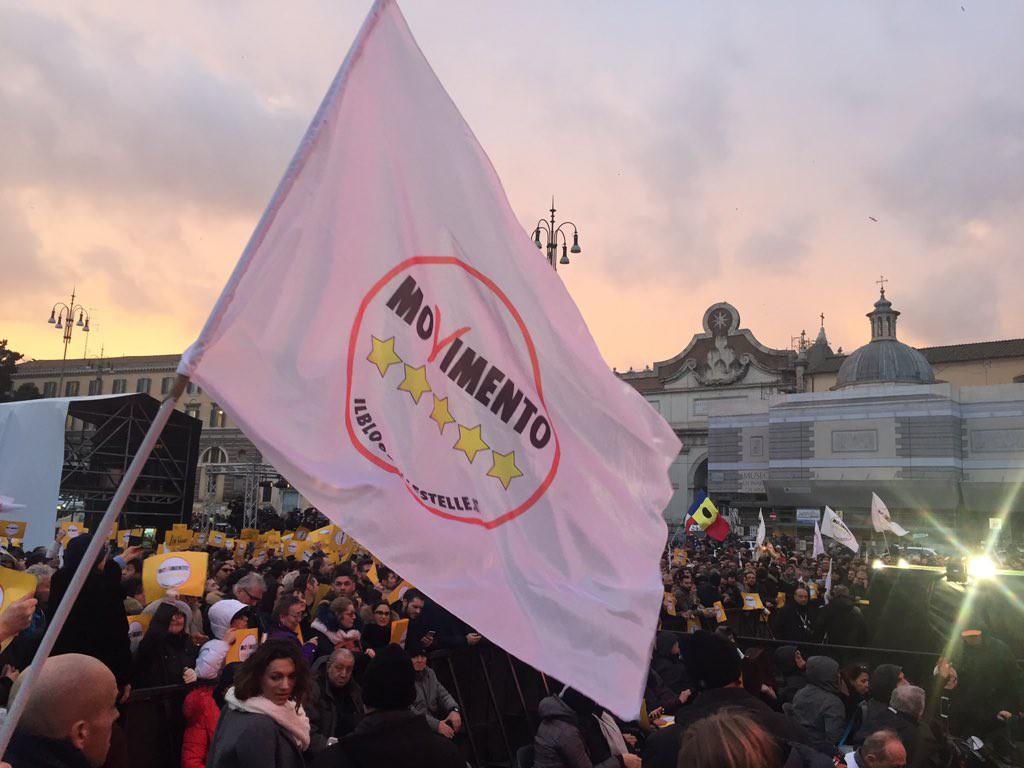 El M5S gana las elecciones en Italia con el 69% del escrutinio pero sin mayoría para gobernar