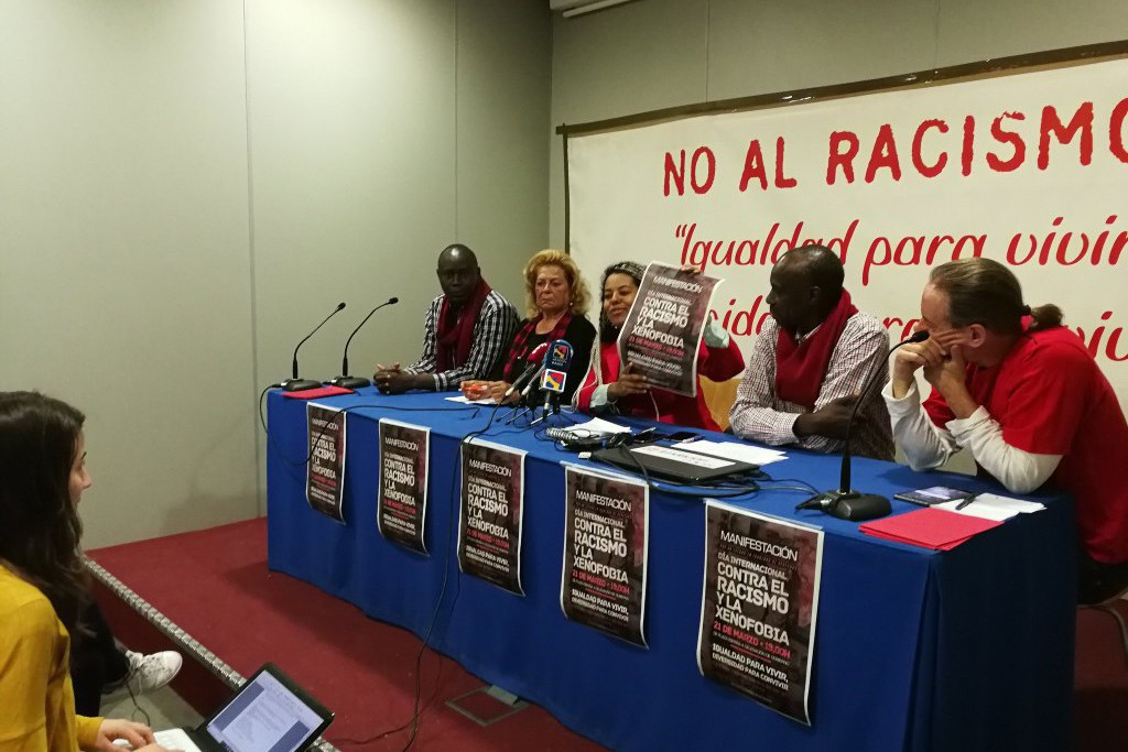 """La Plataforma Ciudadana contra el Racismo convoca una manifestación en Zaragoza bajo el lema """"Igualdad para vivir y diversidad para convivir"""""""