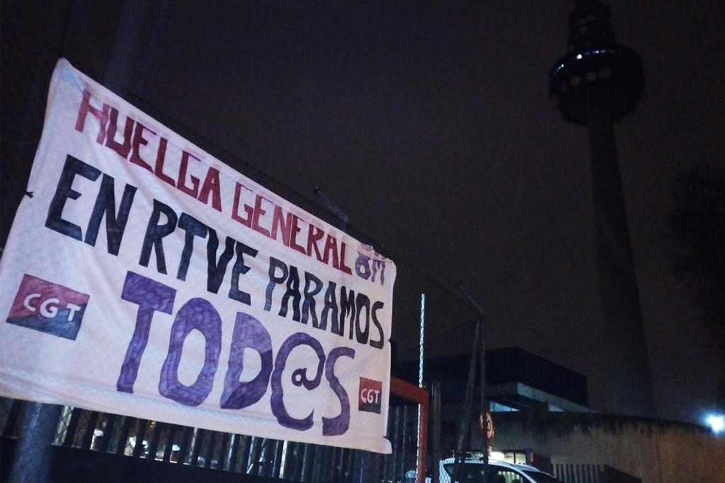 La programación de TVE y RNE se cae por el seguimiento masivo de la huelga feminista de 24 horas