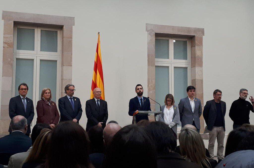 """Torrent insta a """"formar un frente unitario en defensa de la democracia y de los derechos fundamentales"""""""